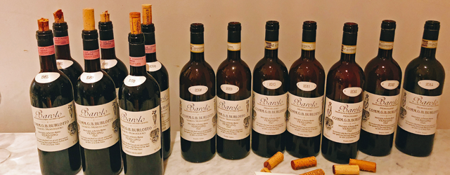 G.B Burlotto Monvigliero Tasting and Dinner