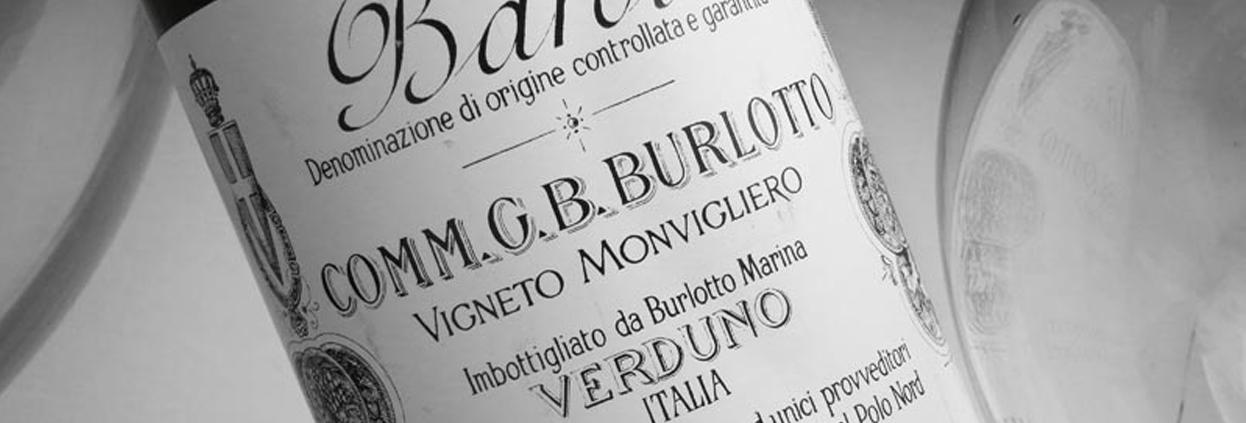 The G.B Burlotto Barolo Monvigliero 1985-2014 Retrospective